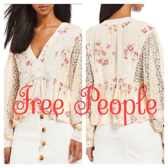 Free People Tops - Free People | Boogie All Night Balloon Sleeve Top